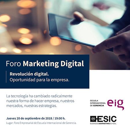 Foro Marketing Digital