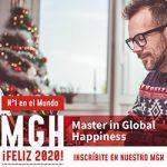 Feliz 2020. Master in Global Happiness.